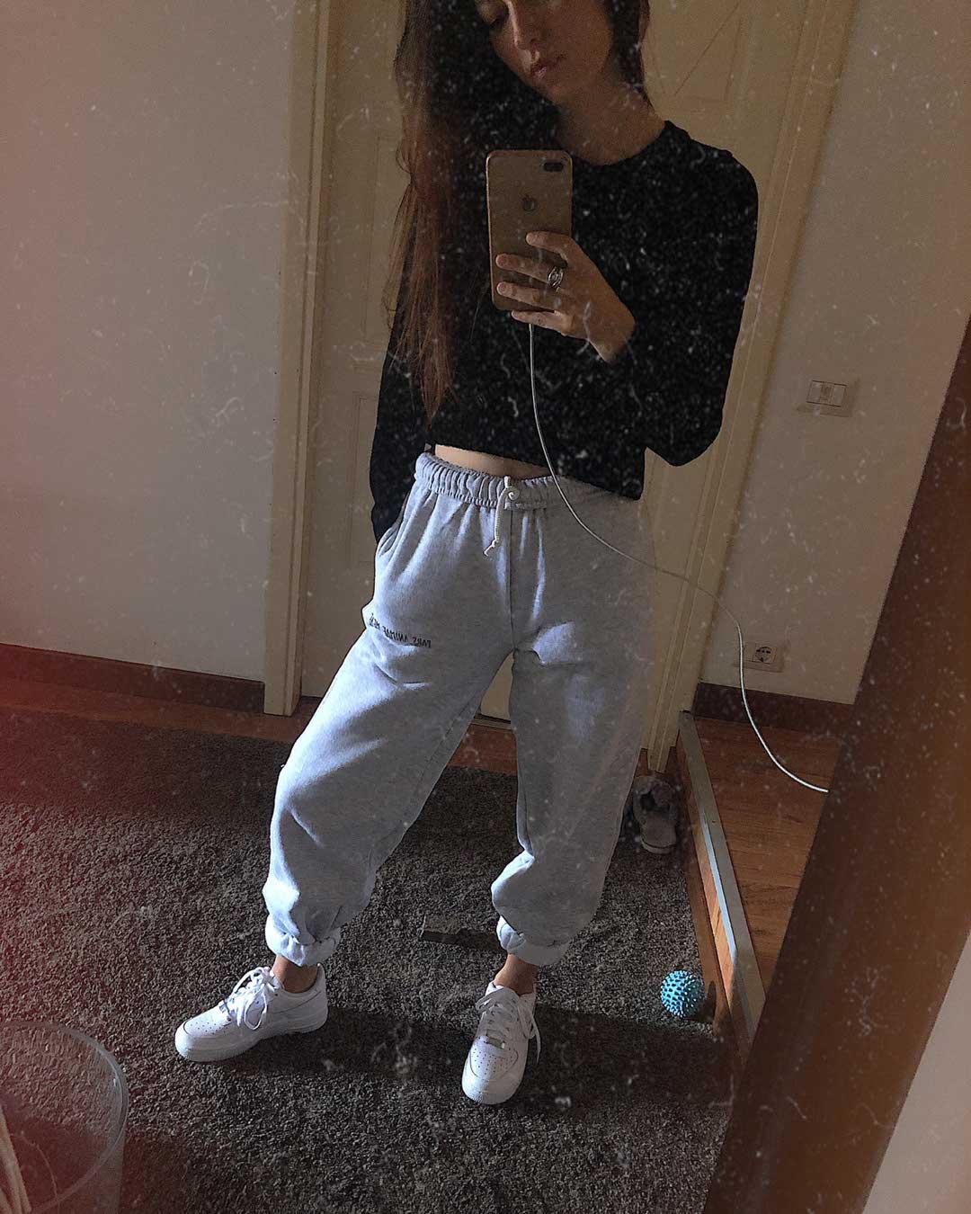 Pantaloni Da Tuta Nike Brushed fleece Cuffed (8a 15a