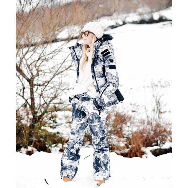Superdry Pantalón De Nieve - Mujer Pantalones