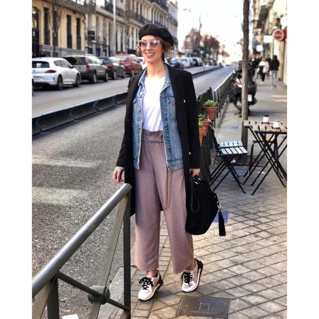 Pantalón Cropped Lazada - Palazzo-pantalones-mujer | Zara España