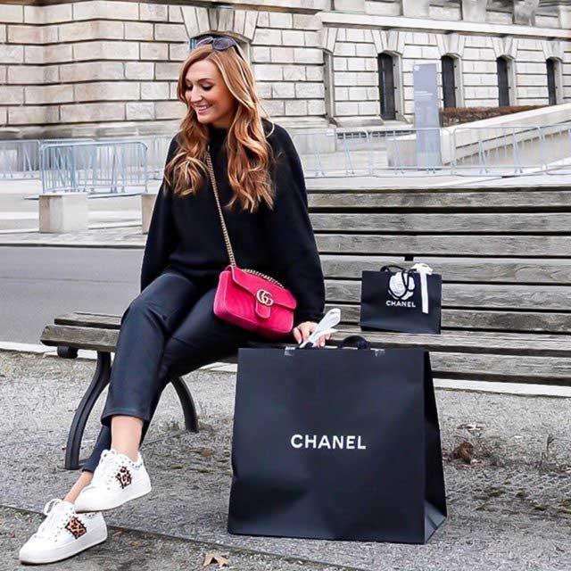 Belle Sneaker Leopard Multi