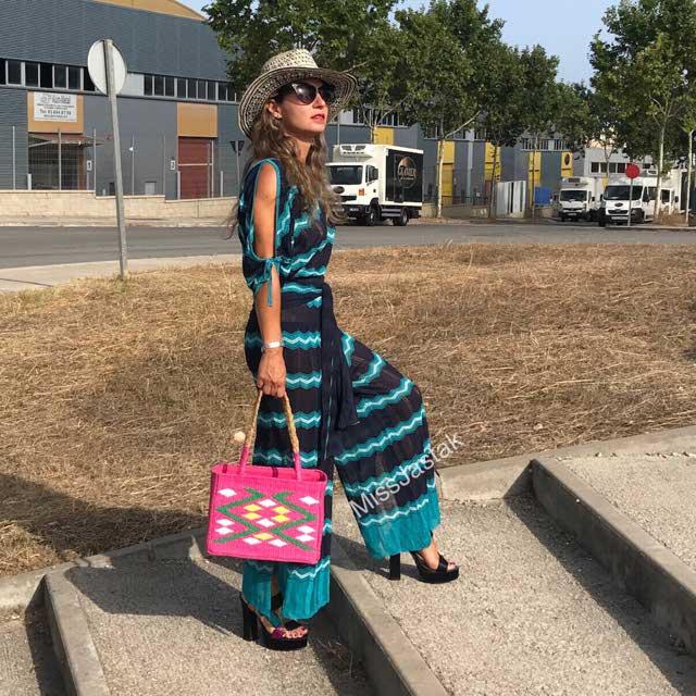 Sandalia Plataforma Raso Multicolor - Dress Time-mujer | Zara España