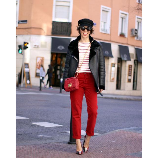 Jeans High Waist Culotte Vermont Red - Ver Todo-jeans-mujer | Zara España