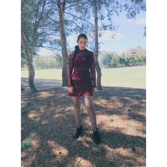 Verona Lace Dress