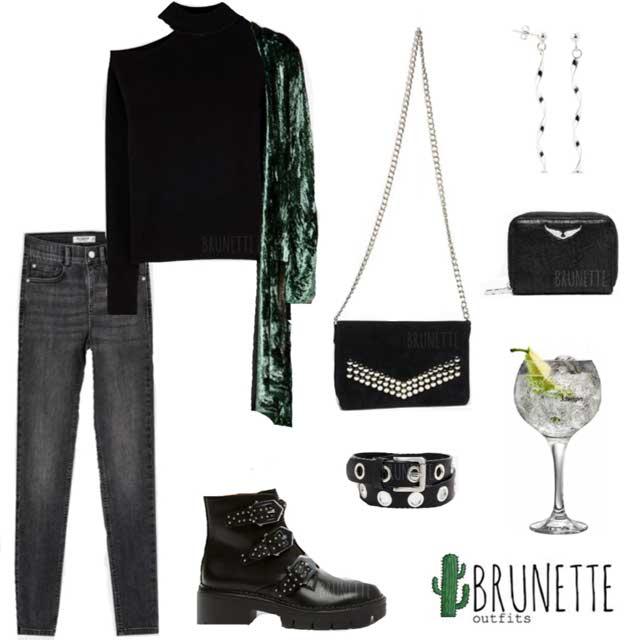 Look de @brunetteoutfits del 22 de Diciembre, de 2019 | 21 Buttons