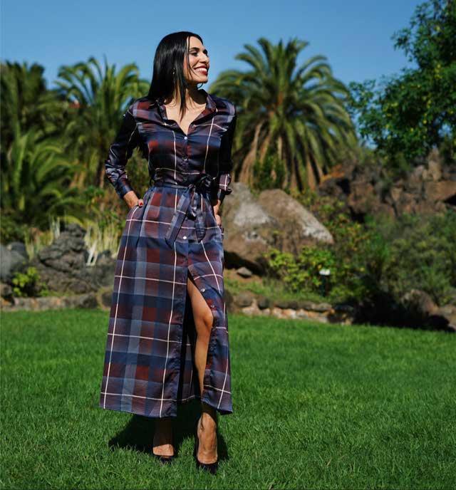 Look of @estefaniagorayeb from 29 November, 2019 | 21 Buttons