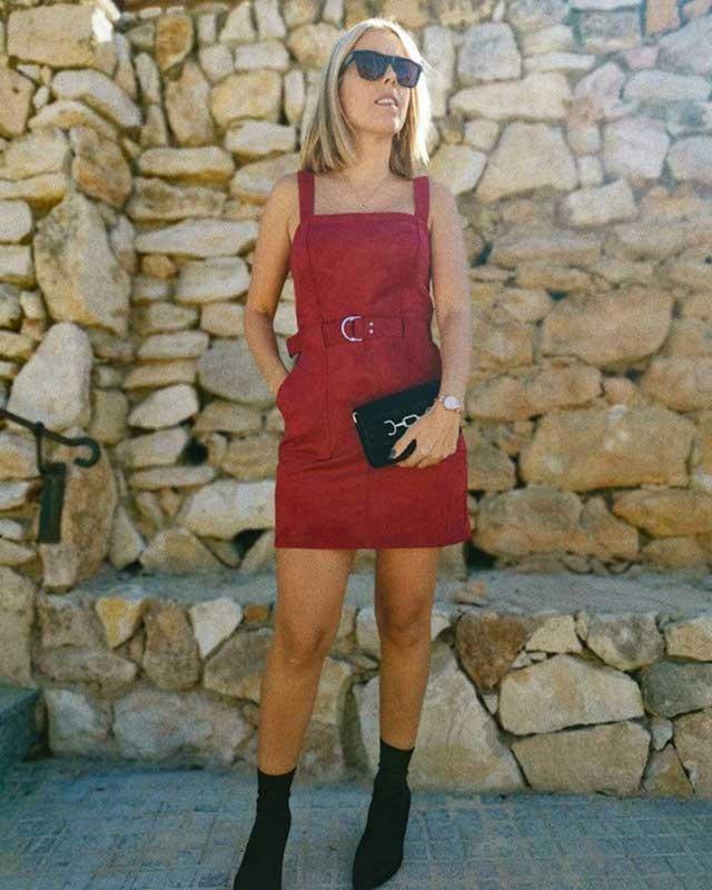 Vestido Pichi De Antelina