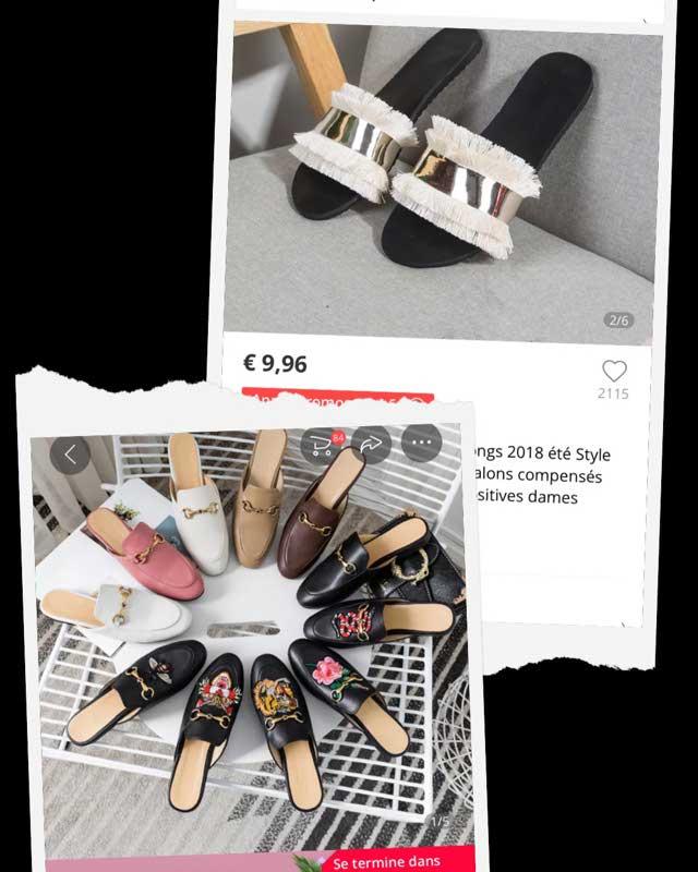 Femmes Sandales Pantoufles Tongs 2018 Été Style Chaussures Femme Sandales À Talons Compensés Mode Plate-forme Femme Diapositives Dames Chaussures _ {categoryname} - Aliexpress Mobile