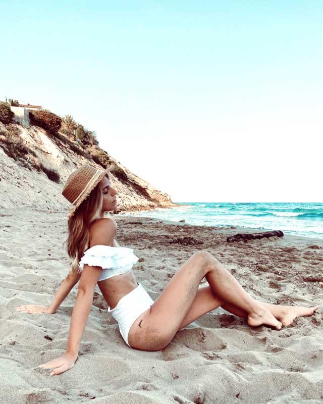 Braguita Bikini Brasileña Alta Plumeti - Novedades - Baño Y Beachwear - Nueva Colección | Oysho España