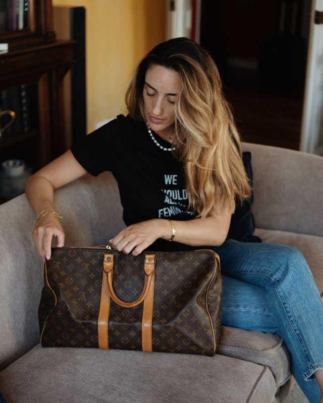 Louis Vuitton Keepall | The Ultimate Designer Travel Bag